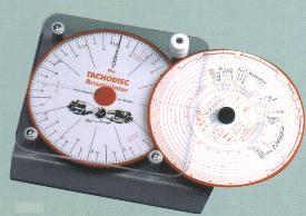 Magnified Tachograph Chart / Disc Accumulator