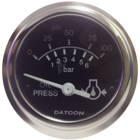 Datcon Oil Pressure Gauges and Matching Senders