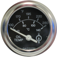 Datcon Oil Temperature Gauges