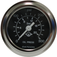 Datcon Transmission Temperature and Transmission Oil Pressure Gauge