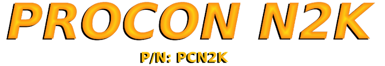 Procon N2K NMEA 2000 to Modbus Gateway