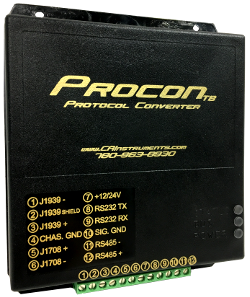 Procon Protocol Converter for J1708 or J1939