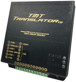 Translator J1708-1939  J1939-1708, TMT, Universal, Protocol Converter, Data bus translator